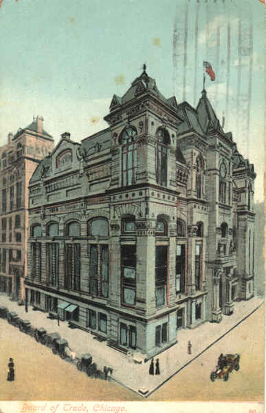 Chicago Board of Trade, 1909