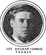 Joe Drueke, Catholic, Tackle