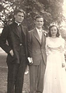 Father Howley's first wedding