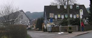 Drüecke houses in Ostentrop