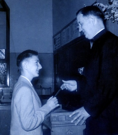 Peter and Fr. Hayes